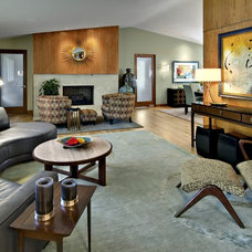Modern Living Room by Pat Manning-Hanson, ASID