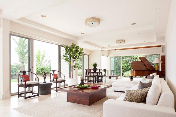 Contemporain Salon Contemporary Living Room