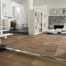 Contemporary Living Room by Porcelanosa USA