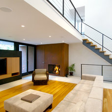 Contemporary Living Room by PRDG architecture + design