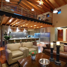 Contemporary Living Room by Prestige Builders