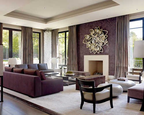 Living Room Ideas Purple Interior Design Homely Heathers Within