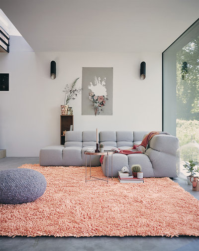 Contemporary Living Room by Rugs.ie