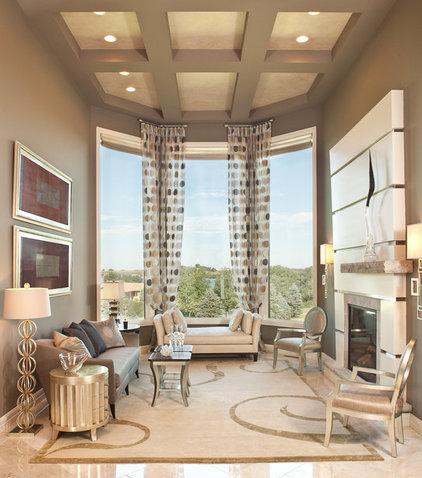 Contemporary Living Room by Sarah O Design