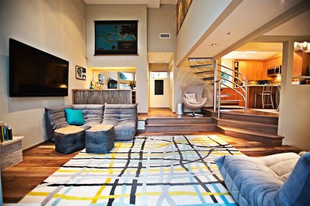 Contemporary Living Room by Shryne Design