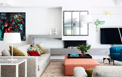 Houzz Tour: A Sophisticated Look for a Busy Family