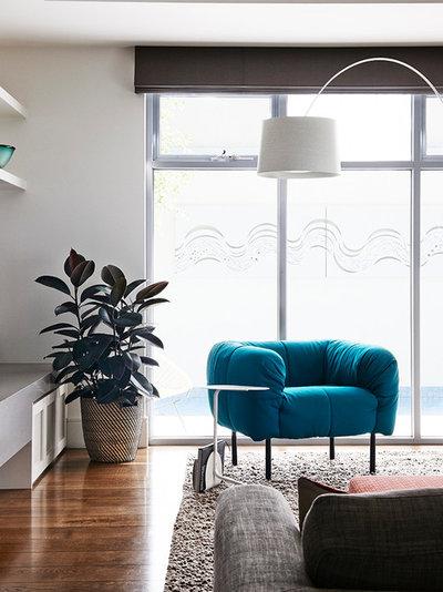 Contemporary Living Room by Sisalla Interior Design