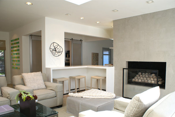 Contemporary Living Room by SLIC Interiors