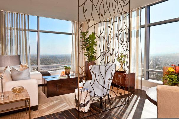 Contemporary Living Room by Smith Firestone Associates