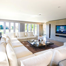 Contemporary Living Room by SONA Projects
