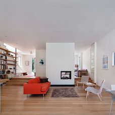 Contemporary Living Room by Stephen Moser Architect