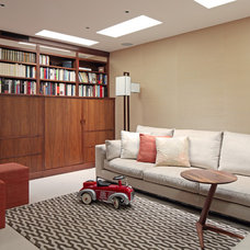 Contemporary Family Room by Susan Fisher Photography