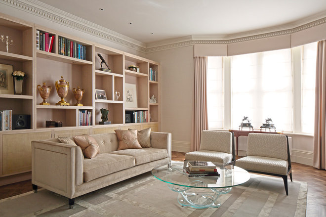 Contemporary Living Room by FISHER HART