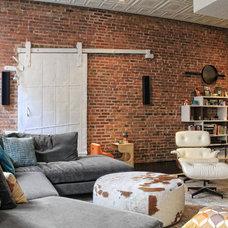 Contemporary Living Room by Tamara H Design