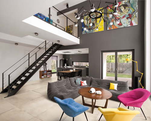 kids living room. Inspiration for a contemporary living room remodel in Dublin Play Area Kids Living Room Ideas  Photos Houzz