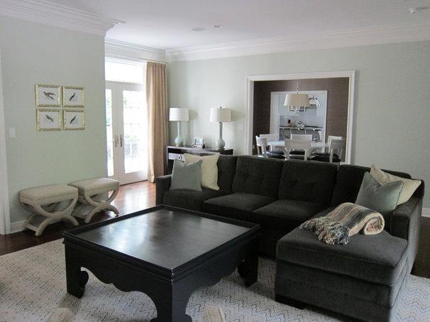 Contemporary Living Room by Uma Stewart Interiors & Lifestyle