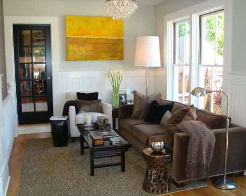 Brown Velvet Sofa Houzz