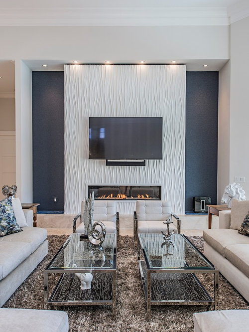 Best Contemporary Family Room Design Ideas & Remodel ...
