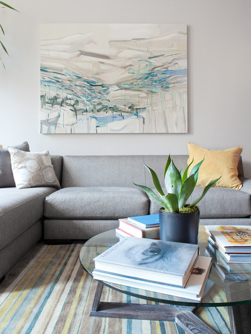 Grey Sofa Living Room Design Ideas, Remodels & Photos | Houzz