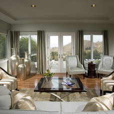 Contemporary Living Room by Design Focus
