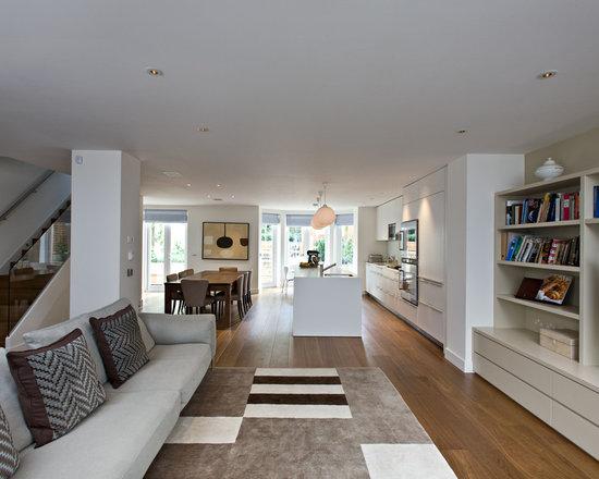 Long Narrow Open Floor Plan Houzz