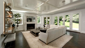 Contemporary Luxury Kitchen, Master Bathroom and Basement Renovation
