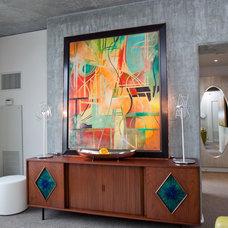 Modern Living Room by Chimera Interior Design