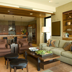 contemporary living room by Harte Brownlee & Associates Interior Design