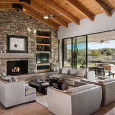 Contemporary Living Room by Ann Love Interiors Inc.