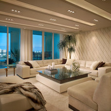 Contemporary Living Room by Interiors by Steven G