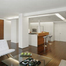 Contemporary Living Room by Studio ST Architects, P.C.