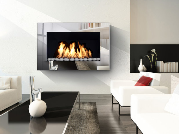 Contemporary Living Room by Bio Fires