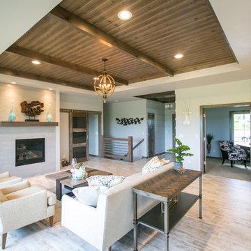 Contemporary Rustic - Home