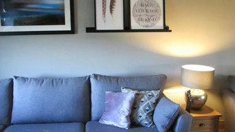 Contemporary Sitting room design Co. Leitrim