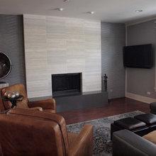 Office Fireplace