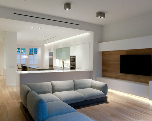 Contemporary tampa living room design ideas remodels for Furniture w waters ave tampa
