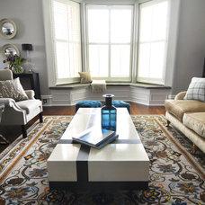 Contemporary Family Room by Kia Designs