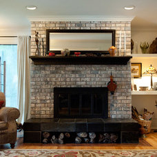 Traditional Living Room by Insideout Design, Etc.