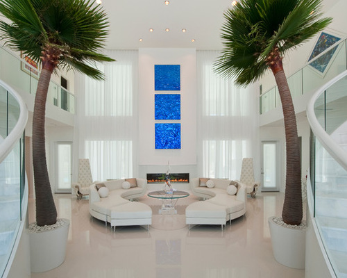 Charming Palm Trees Living Room Design Ideas Remodels S Part 4
