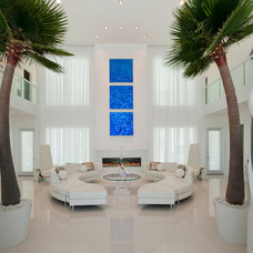 Contemporary Living Room by Steven Paul Whitsitt Photography