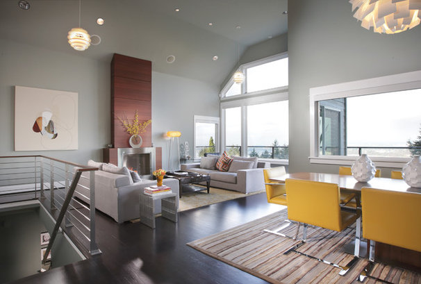 Contemporary Living Room by The Neil Kelly Company