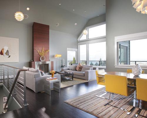 glamorous yellow gray living room | Gray And Yellow Living Room | Houzz
