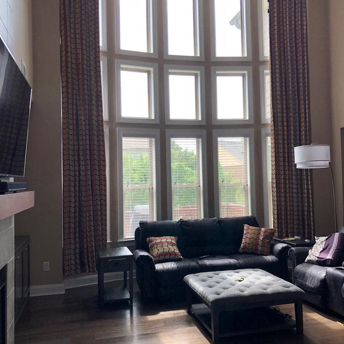 Contemporary Window Design - 20 feet high!
