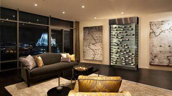 Contemporary Wine Cellar Cabinets