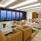 Contemporary with phenomenal art contemporary dining for Steven g interior designs