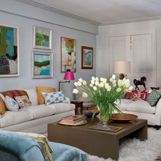 Contemporary Living Room by Design Development NYC