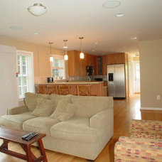Traditional Living Room by Cook Bros Design Build Remodeling