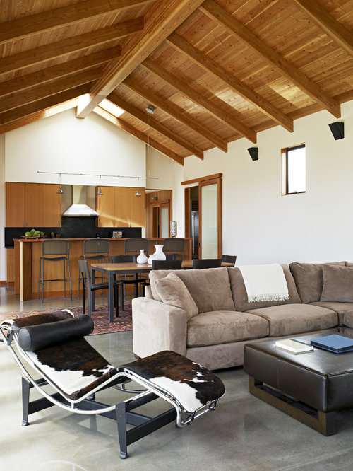 Western living room home design ideas pictures remodel - Images of living room decor ...