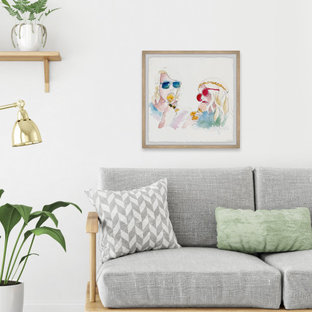 """""""Cool Hippies"""" Framed Painting Print"""