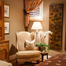 Traditional Living Room by Eric Ross Interiors, LLC